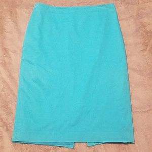 Ann Taylor lined pencil skirt